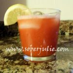 Strawberry Lemon Delight, the perfect skinny drink!
