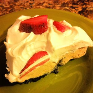 Cool Whip Ice Cream Pie Piece