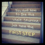 Life Change Is All About That First Step