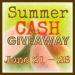 Summer Cash Giveaway- #WIN $115 CASH