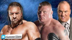 triple H vs lesner
