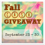 WIN $120 With The Fall Cash Giveaway