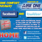 WIN a Humidifier from Home Comfort