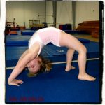 little girl gymnastics