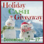 WIN $125 CASH Open WorldWide- #HolidayCashGiveaway