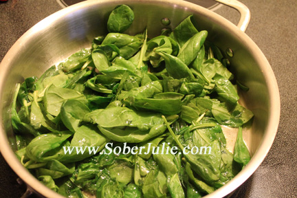 Spinach for Spanokapita