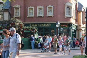 Epcot Rose and Crown