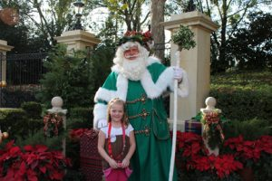Epcot UK Pavillion Father Christmas