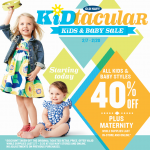 Old Navy 40% Off Sale & Pin It To Win It Sweepstakes #ONKidtacular