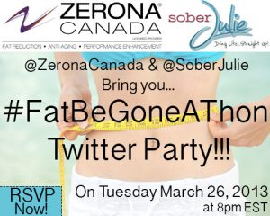 Join me for the Zerona Twitter Party