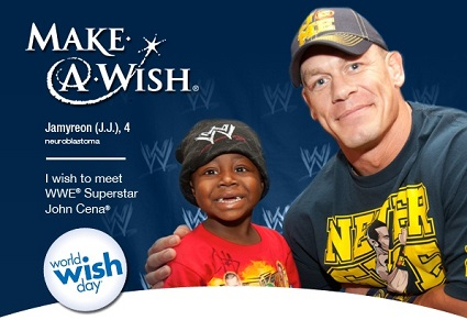 #WWEMoms Make A Wish World Wish Day Twitter Party
