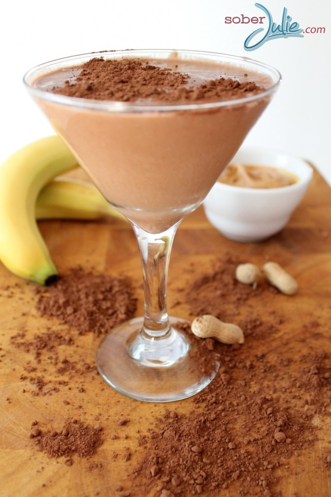 Cocoa Banana Peanut Butter Smoothie recipe