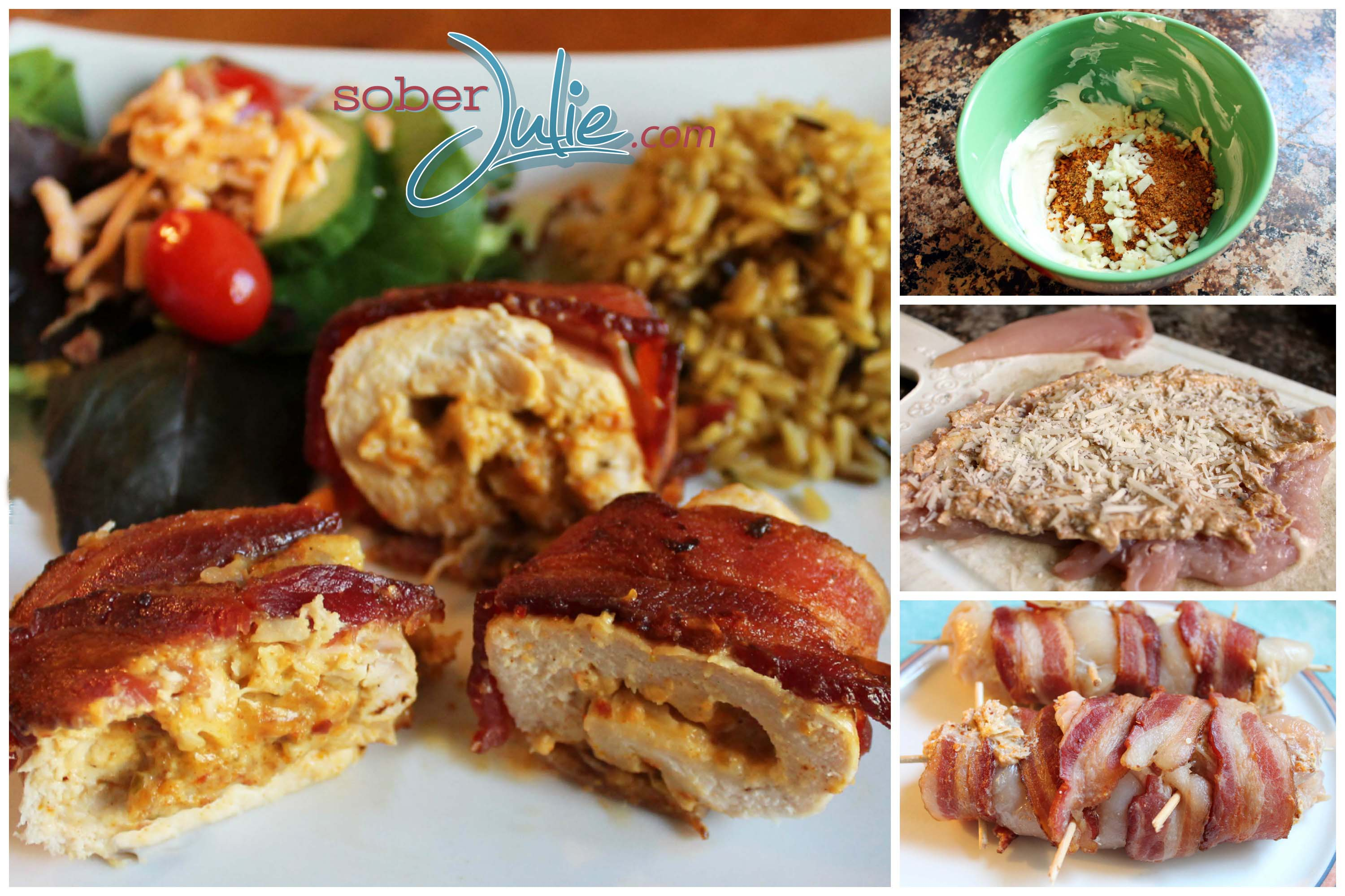ideas dinner a for family easy Stuffed Wrapped Pepper Easy Roasted – Chicken Red Bacon Recipe