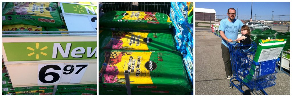 Walmart frugal heroes garden center