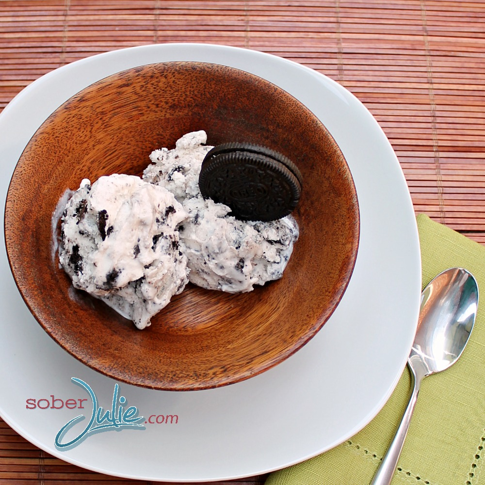 Cookies and Cream Ice Cream recipe