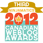 2012 Canadian Weblog Awards Winner