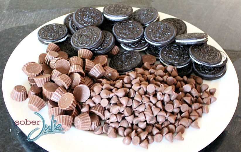 Chocolate Oreo Peanut Butter Cup Madness