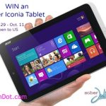 WIN an Acer Iconia Tablet!