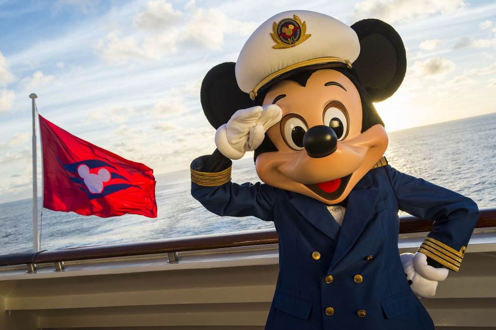 Captain Mickey on the Disney Magic