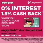 Angry Birds™ Visa® Prepaid Card – Holiday Gift Guide #SJHolidayGiftGuide