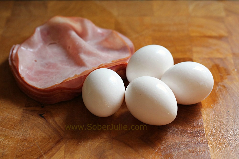 ham and egg cups ingredients WM