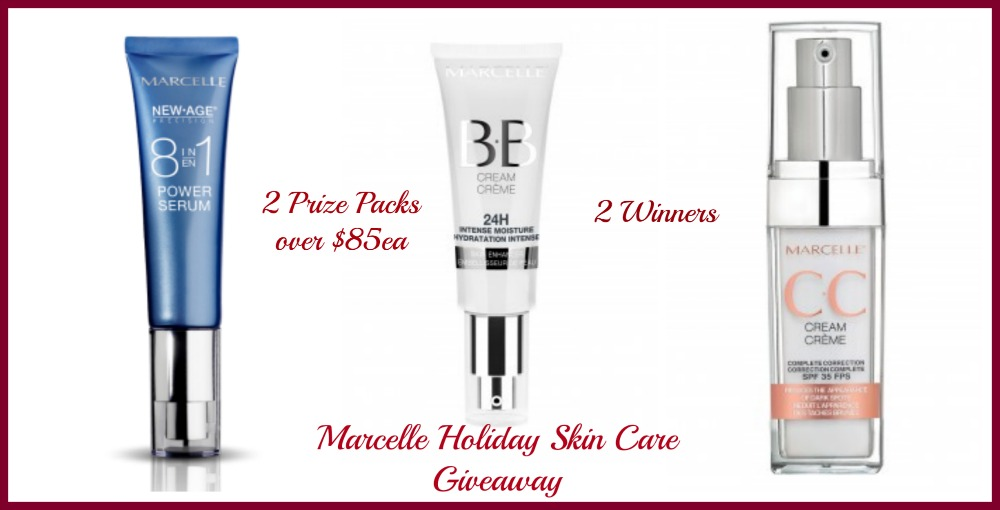 marcelle holiday skin care giveaway