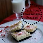 Candy Cane Cheesecake Squares – A FUN kids baking night
