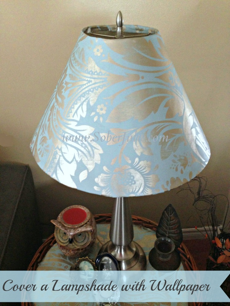 cover a lampshade with wallpaper.jpg