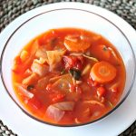 Getting My Veggies In With This Simple Cabbage Soup Recipe
