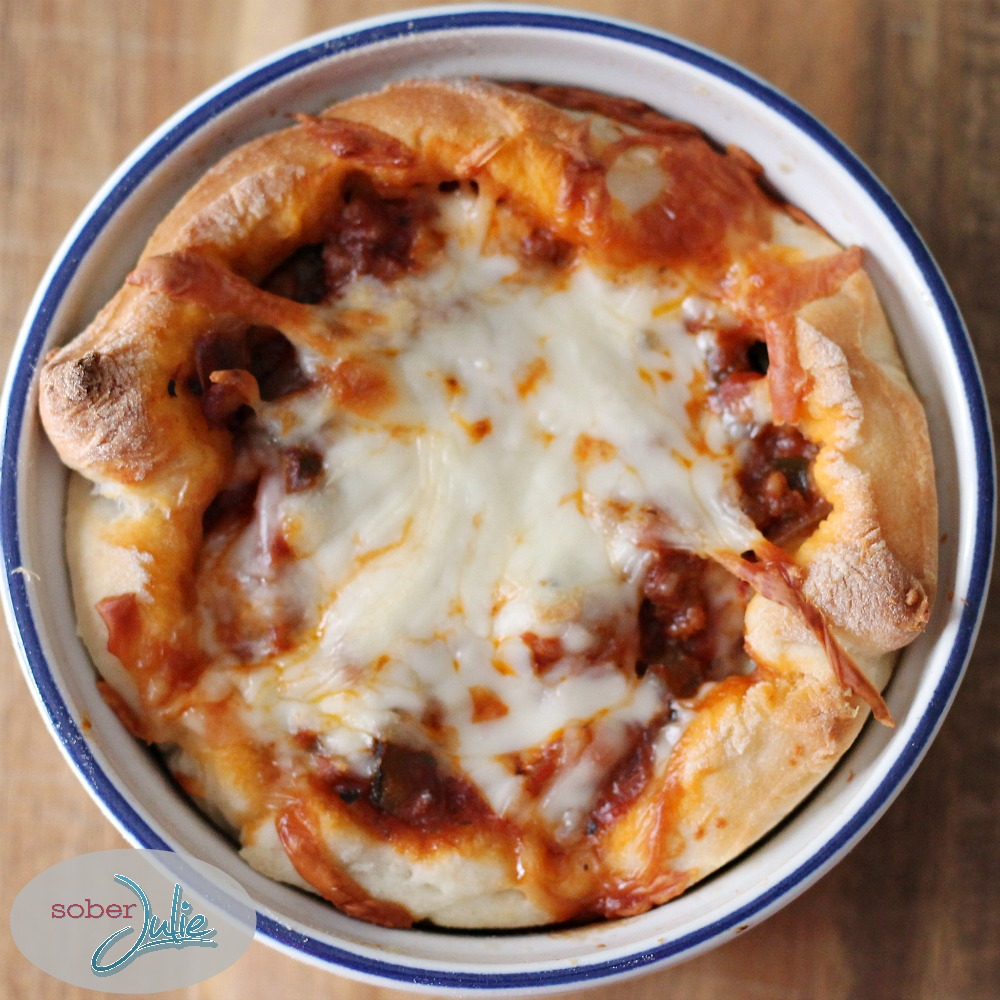 Healthy Pizza Casserole recipe wm