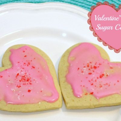 Valentine's Day Sugar Cookies Recipe