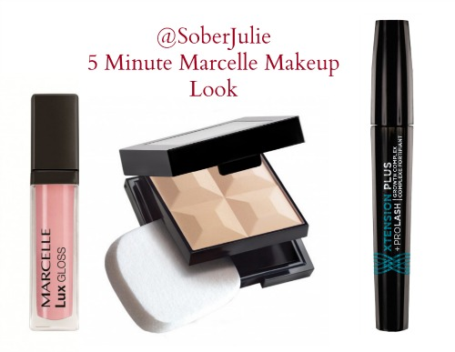 5 minute Marcelle Makeup