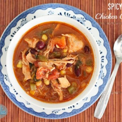 Spicy Chicken Chilli