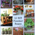 10 DIY Planter Boxes for Gardening