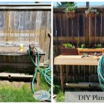 DIY Planter Table Project & WIN a Ryobi Drill