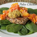 Oh-So Simple Paleo Chicken Burger Recipe