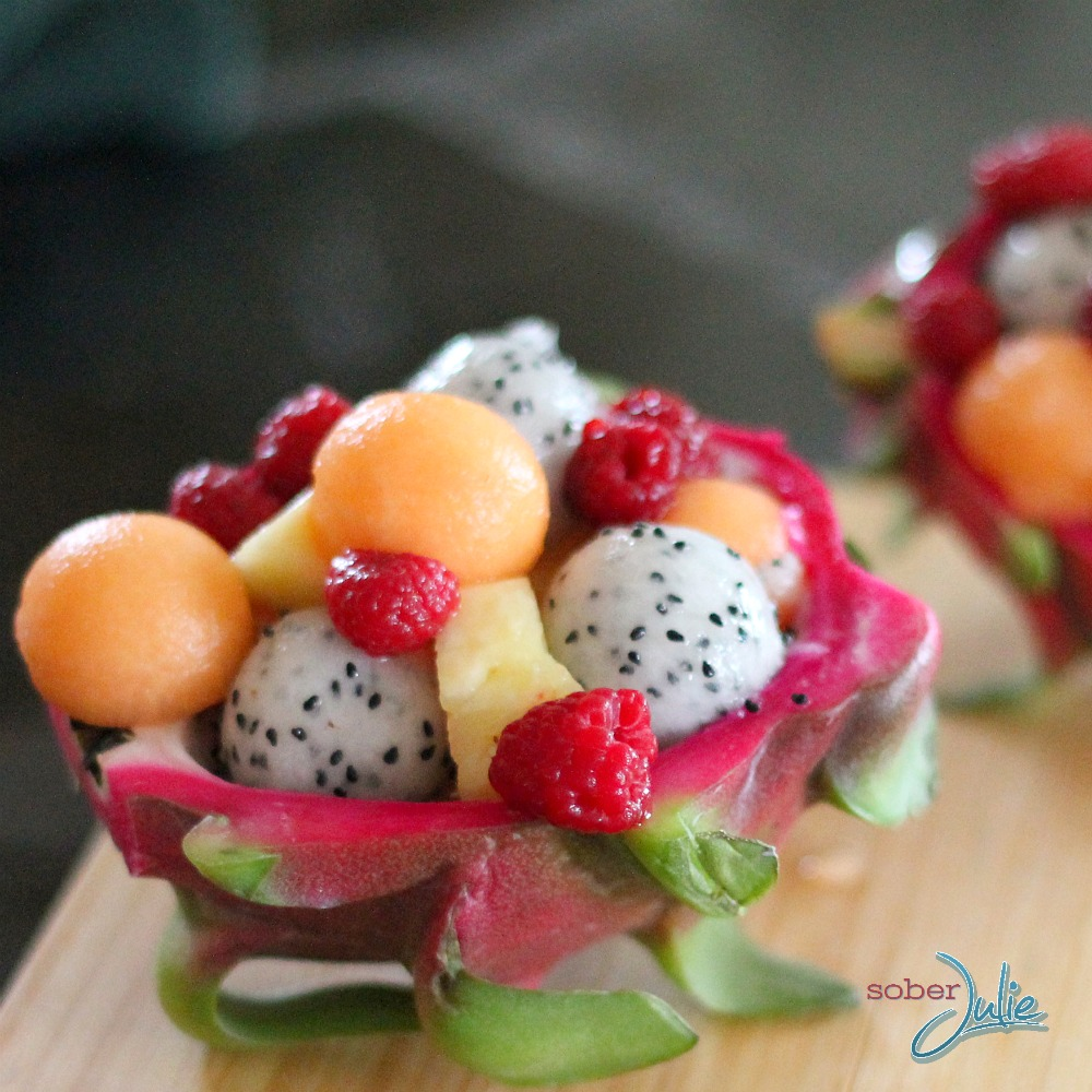 fruit salad dragon fruit nutrition