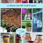 10 Mason Jar DIY Craft Projects