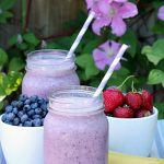 Blueberry Smoothie Recipe from My Creative 10 Yr Old Sydney