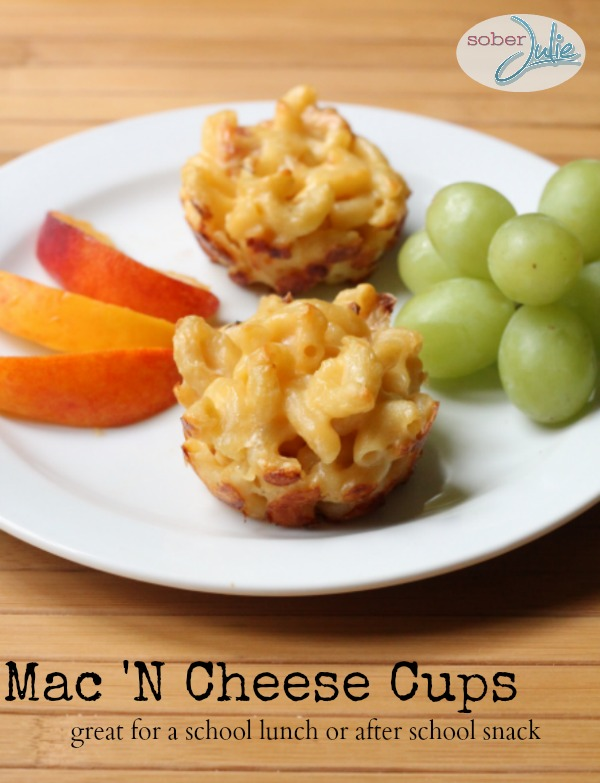 mac 'n cheese cups