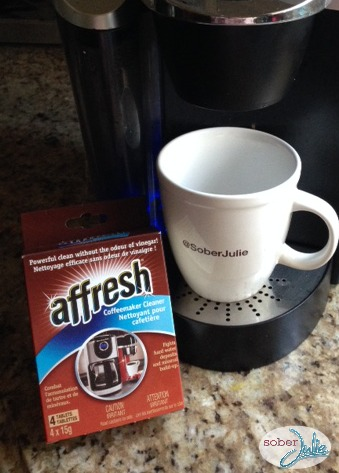 affresh coffee maker cleaner