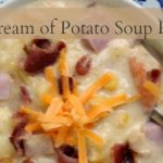 cream of potato soup recipe