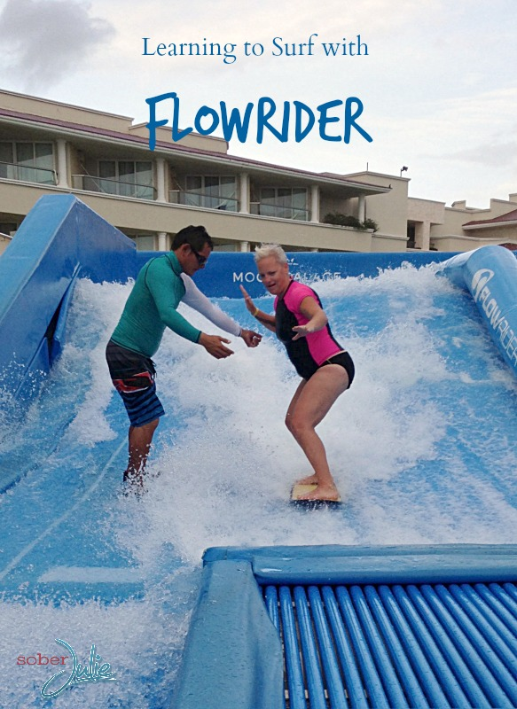 learning to surf with FlowRider
