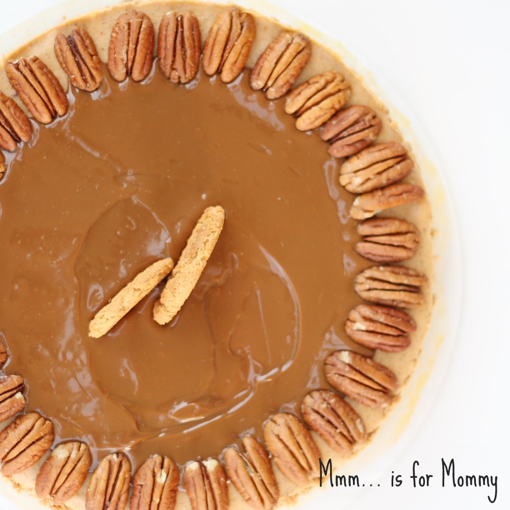 Pecan Pumpkin Cheesecake from Mmm…is for Mommy