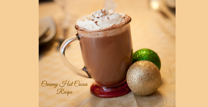 Creamy Hot Cocoa Recipe - Sober Julie