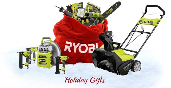 Ryobi Tools for the Handyman/woman & a Giveaway #HolidayGifts2014