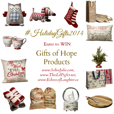 Shop for Hope Gifts GIVEAWAY – Giving Back During Christmas #HolidayGifts2014