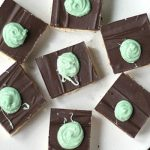 peppermint shortbread bar recipe slider