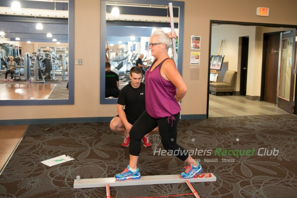personal trainer session soberjulie