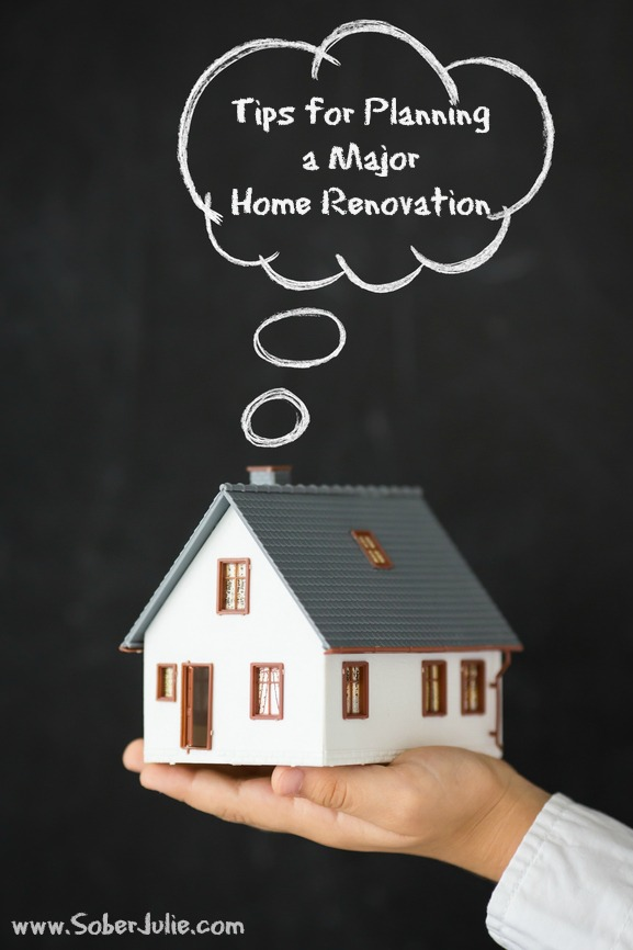 tips for planning a major home renovation